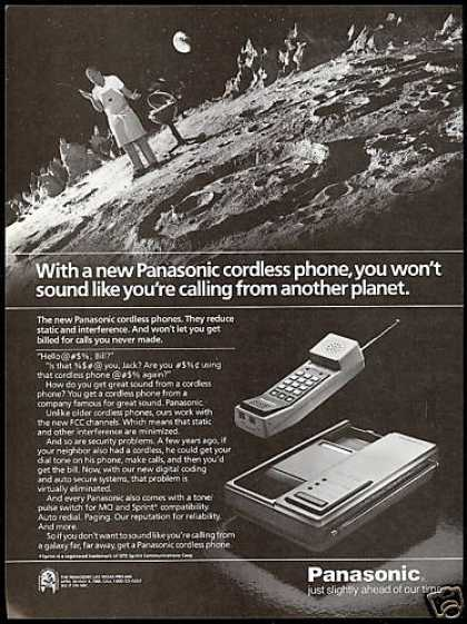 Panasonic Cordless Telephone Another Planet (1985)