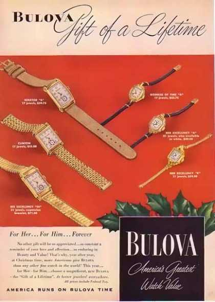 Bulova Christmas – Gift of a Lifetime (1947)