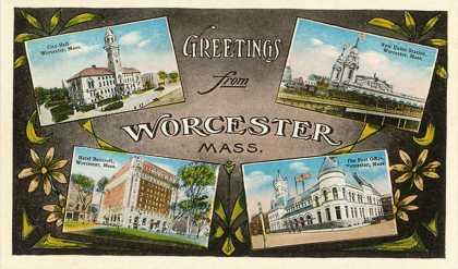 Greetings from Worcester, Massachusetts