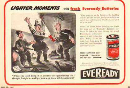 Eveready Battery – Wartime Cartoon (1944)
