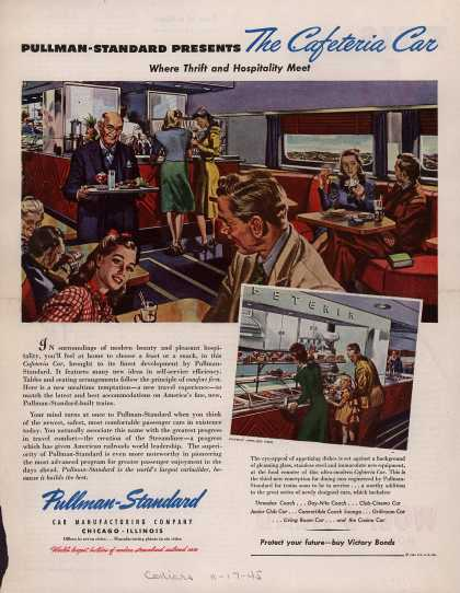 Pullman-Standard Car Manufacturing Company's Railroad Cars – Pullman-Standard Presents The Cafeteria Car (1945)