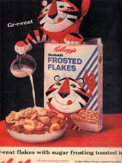 Kellogg's Tony the Tiger (1962)