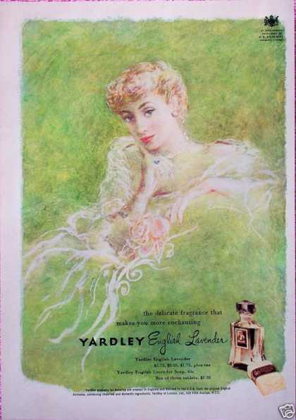 Yardley English Lavender Elegant Lady Roses (1949)