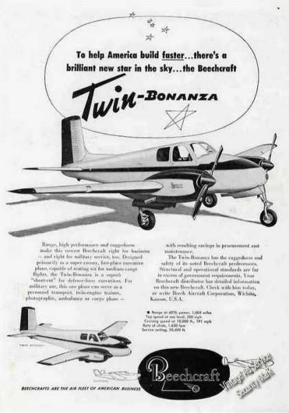 Beechcraft Twin Bonanza Photos (1951)