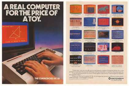 Commodore VIC 20 Real Computer Price of Toy 2-P (1982)