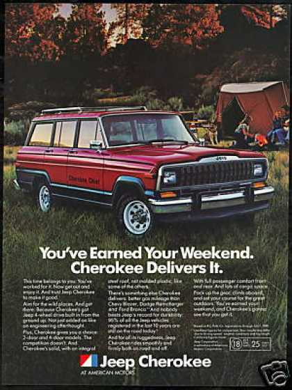 Jeep Cherokee Chief Vintage (1982)