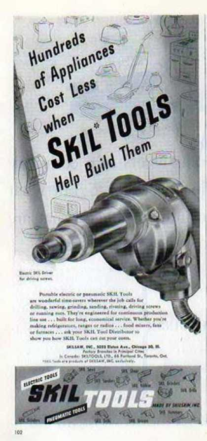 Skil Tools – Old Tools (1947)