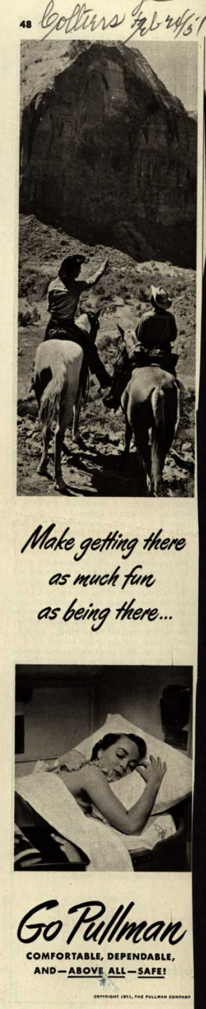 Pullman Company – Make getting there as much fun as being there... Go Pullman (1951)