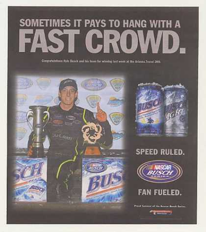 NASCAR Kyle Busch Arizona Travel 200 Win Busch (2007)