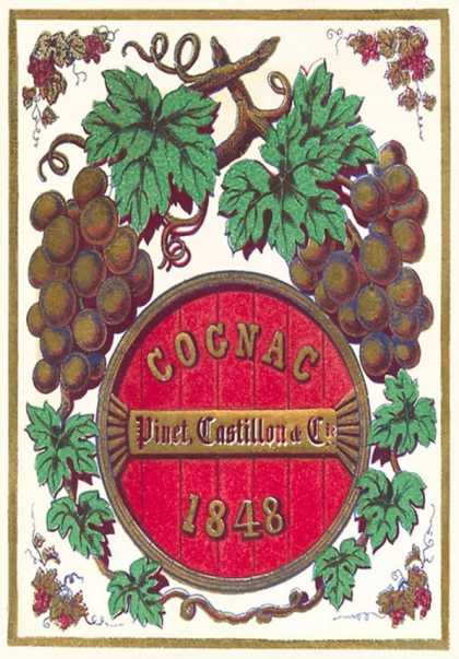 Cognac Label (1848)
