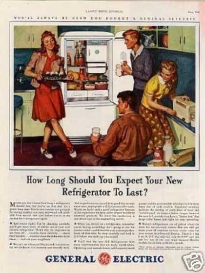 General Electric Refrigerator (1941)