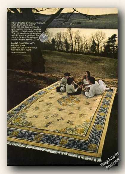 Cathay Carpets Hand-made In India Photo (1974)