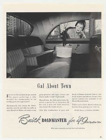 Buick Roadmaster Interior Gal About Town Lady (1949)