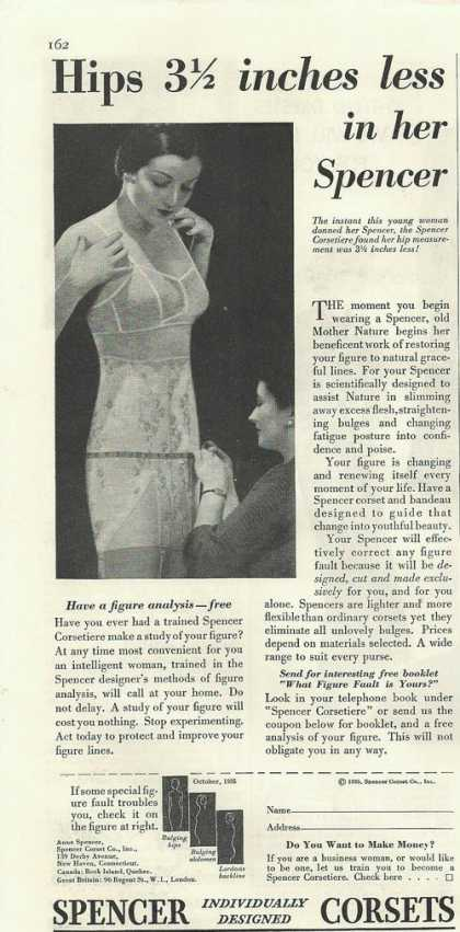 Spencer Womens Corsets (1935)