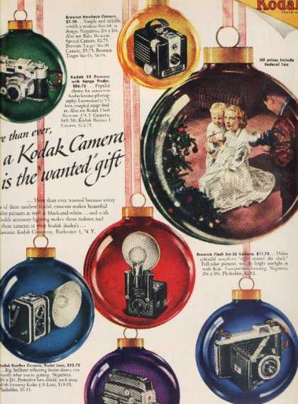 Kodak's Christmas shoppers for the year 1949
