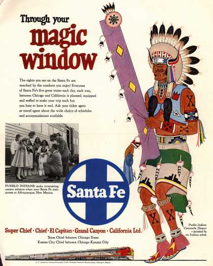 Santa Fe System Lines – Through your magic window (1952)