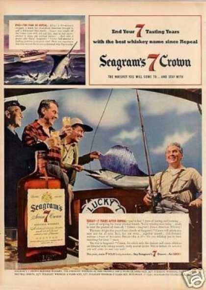 Seagram's 7 Crown Whiskey (1941)