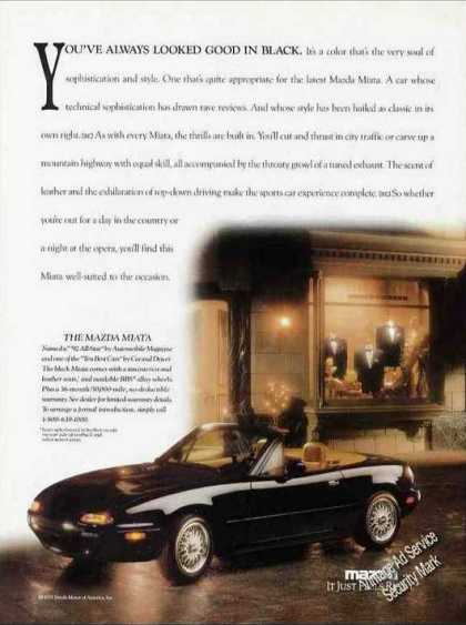 Mazda Miata Beautiful Photo Collectible Car (1992)