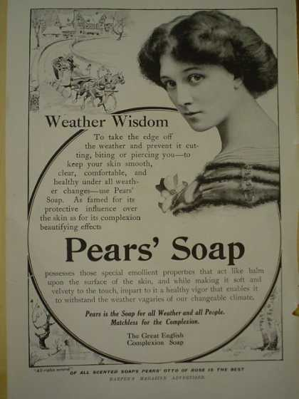 Pears Soap Weather Wisdom (1913)