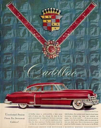 Cadillac Red Jewels By Van Cleef &arpels (1950)