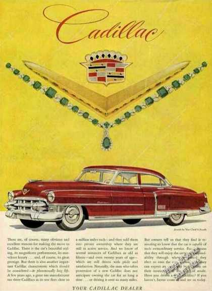 Red Cadillac Jewels By Van Cleef & Arpels (1953)