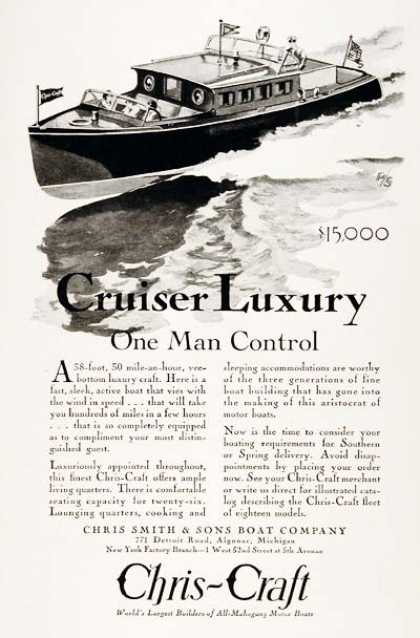 Chris Craft 38ft. Cruiser #2 (1929)