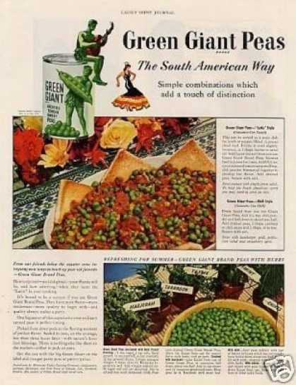 Green Giant Peas (1942)