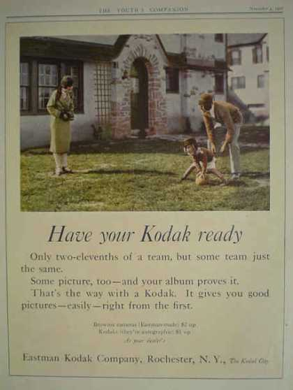 Eastman Kodak Co Camera Have your Kodak Ready (1926)
