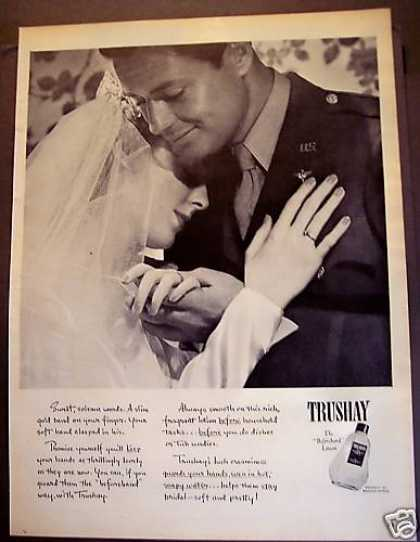 Trushay Hand Lotion Bridal Couple (1945)