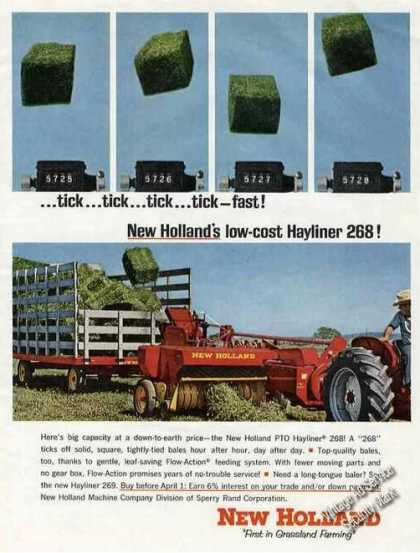 New Holland Low-cost Hayliner 268 Photo (1965)