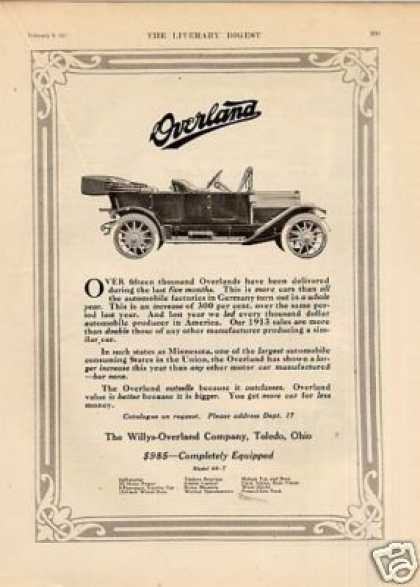 Willys-overland Car (1913)