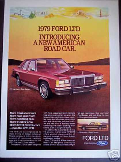 Ford Ltd Road Car 4 Dr Sedan (1979)