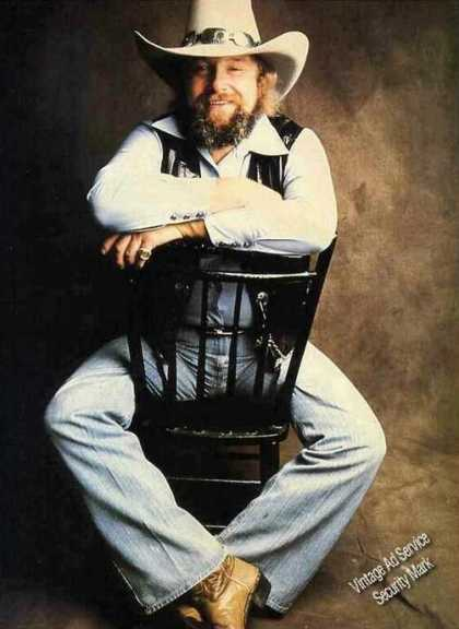 Charlie Daniels Photo Magazine Print Feature (1980)