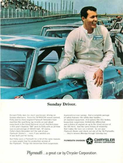 Chrysler Hemi Richard Petty Nascar (1966)