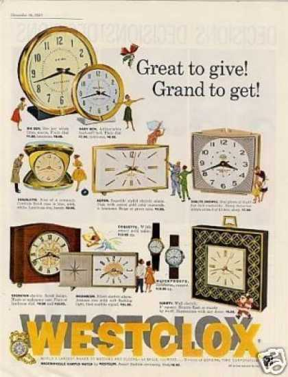 Westclox Clocks (1961)