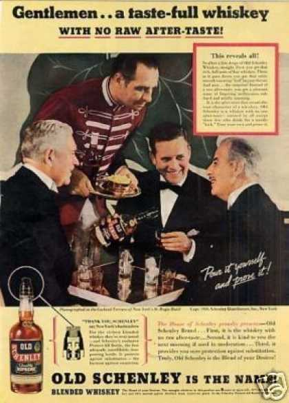 Old Schenley Whiskey (1936)