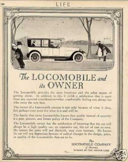 Locomobile Car (1916)