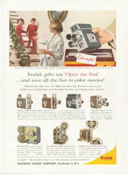 Kodak Brownie 8mm Movie Camera Projector (1958)