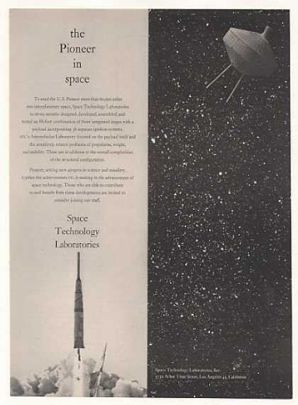 Pioneer Satellite Space Technology Labs (1959)