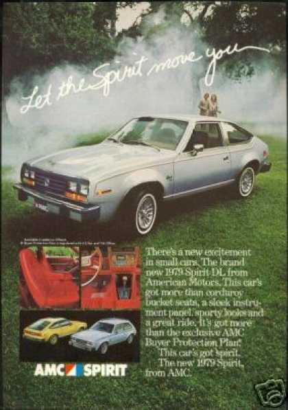 Amc American Motors Spirit DL Photo Vintage (1979)