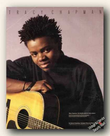 Tracy Chapman Photo Album Promo Ad Music (1988)