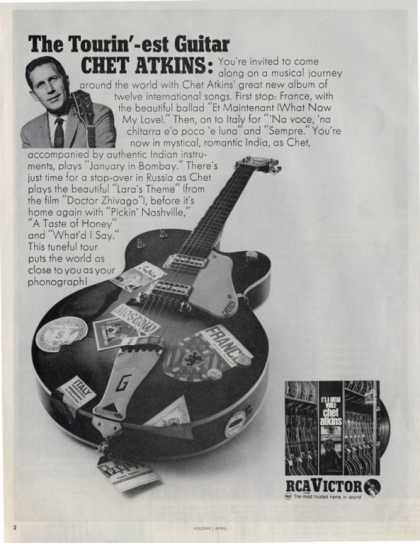Chet Atkins Guitar Rca Victor (1967)