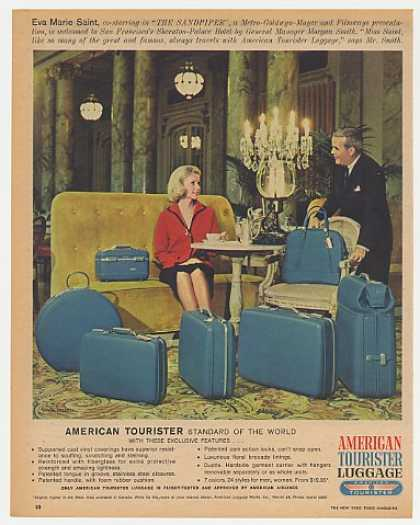 '65 Eva Marie Saint American Tourister Luggage Photo (1965)