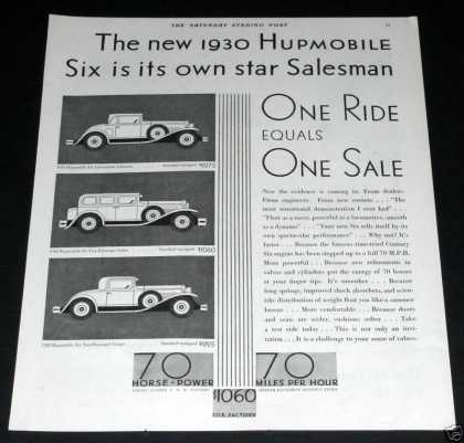 1930 Hupmobile Automobile (1929)