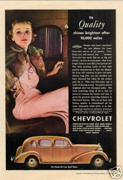 Chevrolet Master Deluxe Sport Sedan Color (1935)