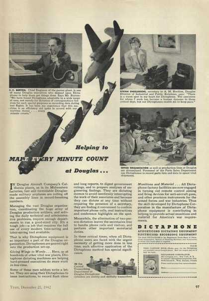 Dictaphone Equipment (1942)