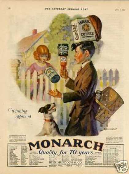 Monarch Foods Color (1927)