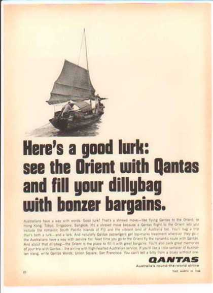 Qantas Airline – Good Lurk? (1966)