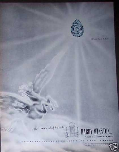 Pegasus Star of the East Diamond Harry Winston (1951)