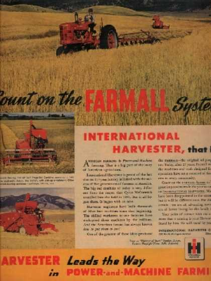 Farmall – Count on the Farmall System (1946)